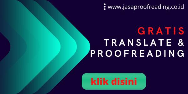Gratis Jasa Translate dan Proofreading Scipus
